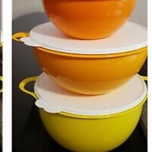 Tupperware thatsa bowl set 4